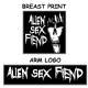 Alien Sex Fiend Long Sleeve T-shirt from Blue Crumb Truck